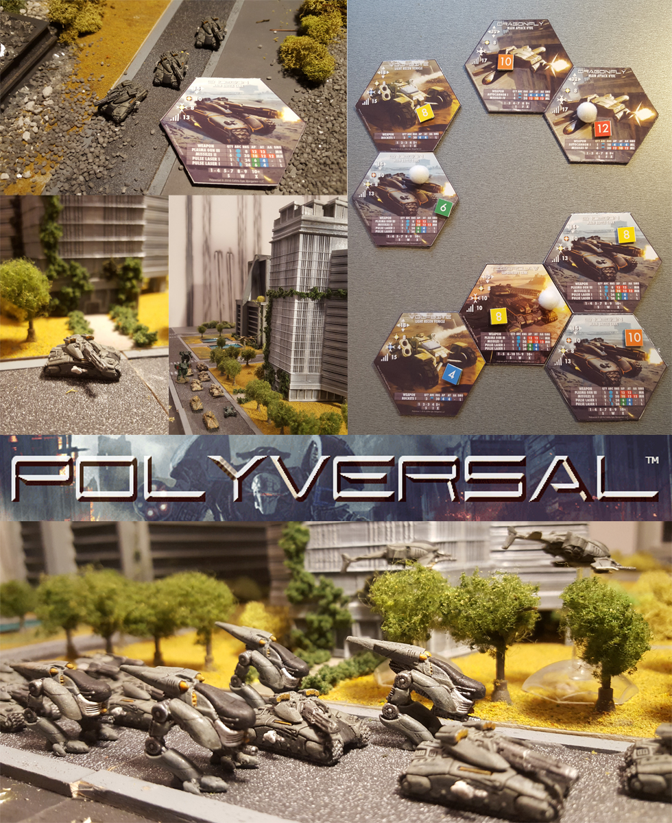 Polyversal in Action - Various Images