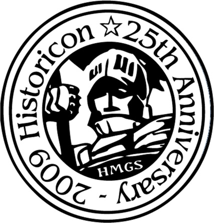 Historicon 25th Anniversary Logo